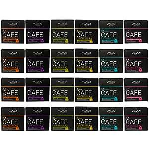 VIAGGIO ESPRESSO - 240 Cápsulas de Café Compatibles con Máquinas Nespresso - SURTIDO