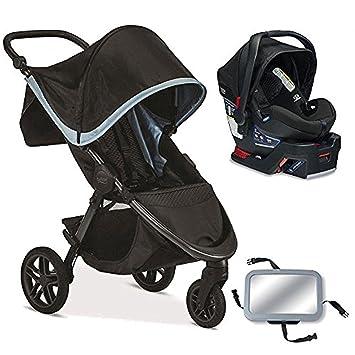 Amazon Com Britax B Free B Safe 35 Infant Baby Stroller Travel