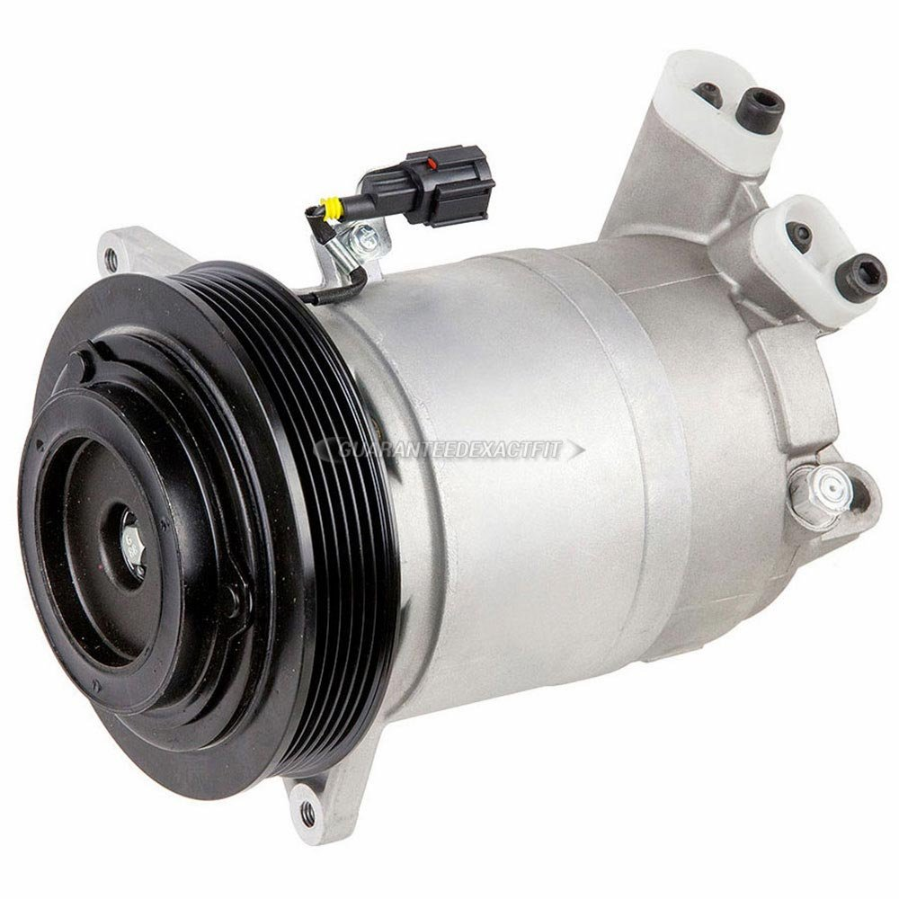 New Ac Compressor Clutch With Complete A C Repair Kit 97 Nissan Pickup 2 4l Wiring Diagram For Altima Maxima Buyautoparts 60 81131rk Automotive