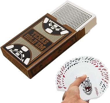 Cartas de Personajes Grandes Póquer Juegos de Mesa innovadores Juegos de Mesa Cartas de póker: Amazon.es: Juguetes y juegos