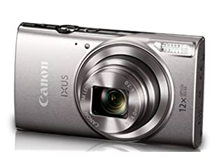 Canon IXUS 285 HS 20.2MP Point and Shoot Camera with 12x Optical Zoom Silver