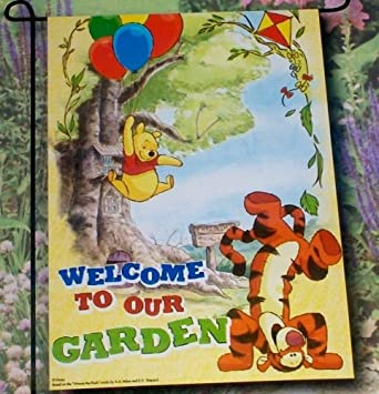 Amazoncom Disney Winnie the Pooh Tigger Welcome To Our