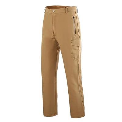 Wiipu Men's Shark Skin Soft Shell Tactical Military Camouflage Pants(J1264)