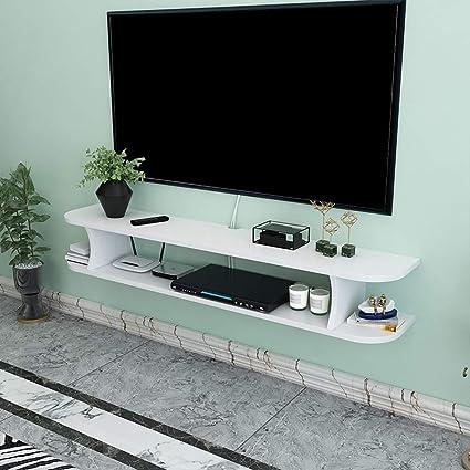 Estante Flotante de Pared para TV, Multimedia, pequeños ...