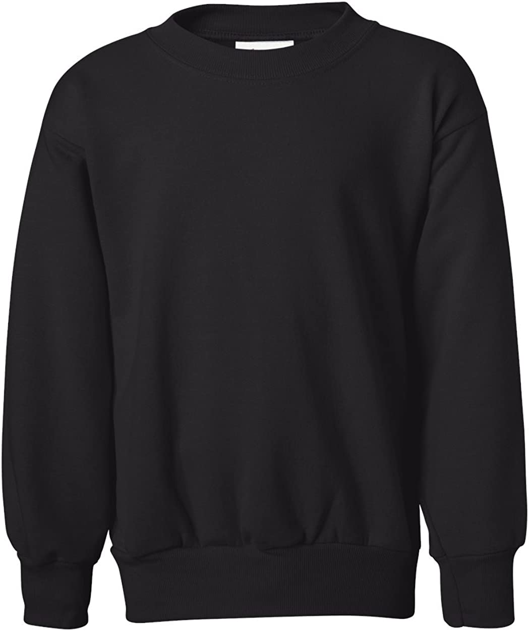 Hanes Boys ComfortBlend EcoSmart Crewneck Sweatshirt: Clothing