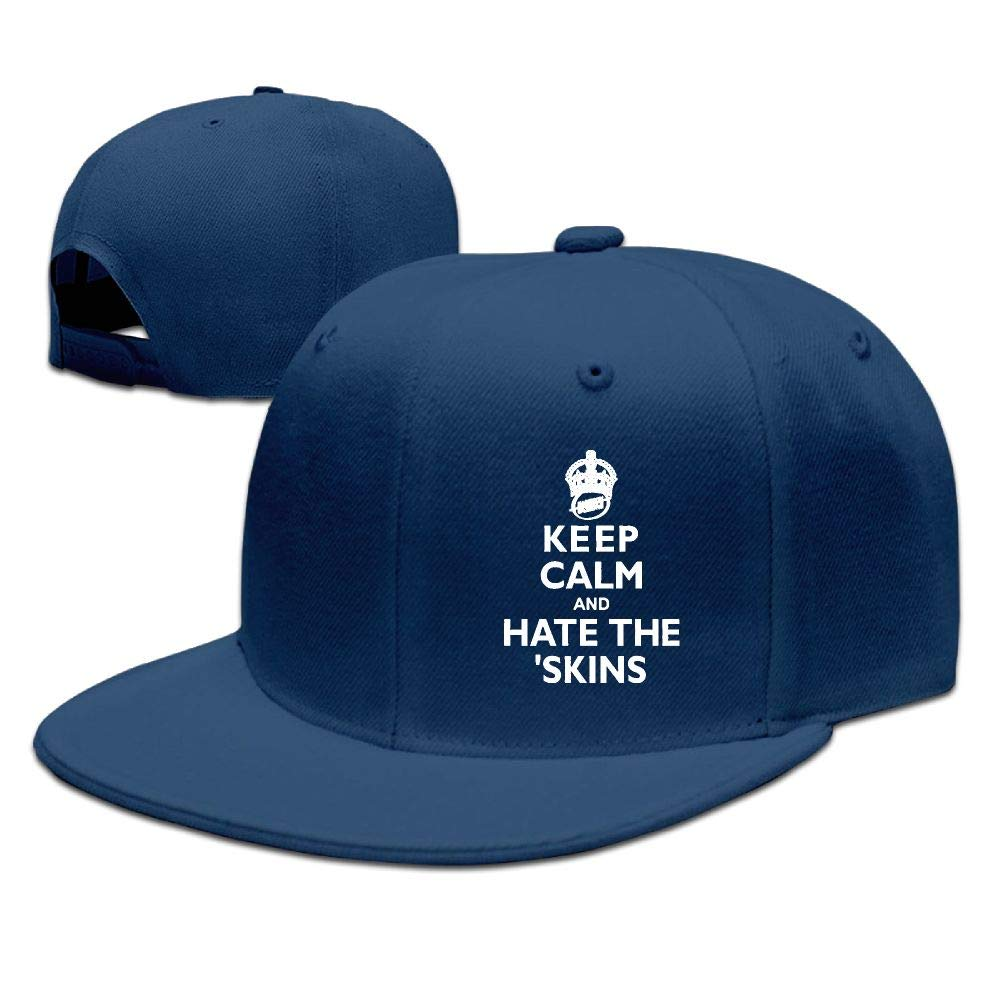 wuhgjkuo Keep Calm and Hate The Redskins Dad Hat Trucker Hat Adjustable Baseball Cap