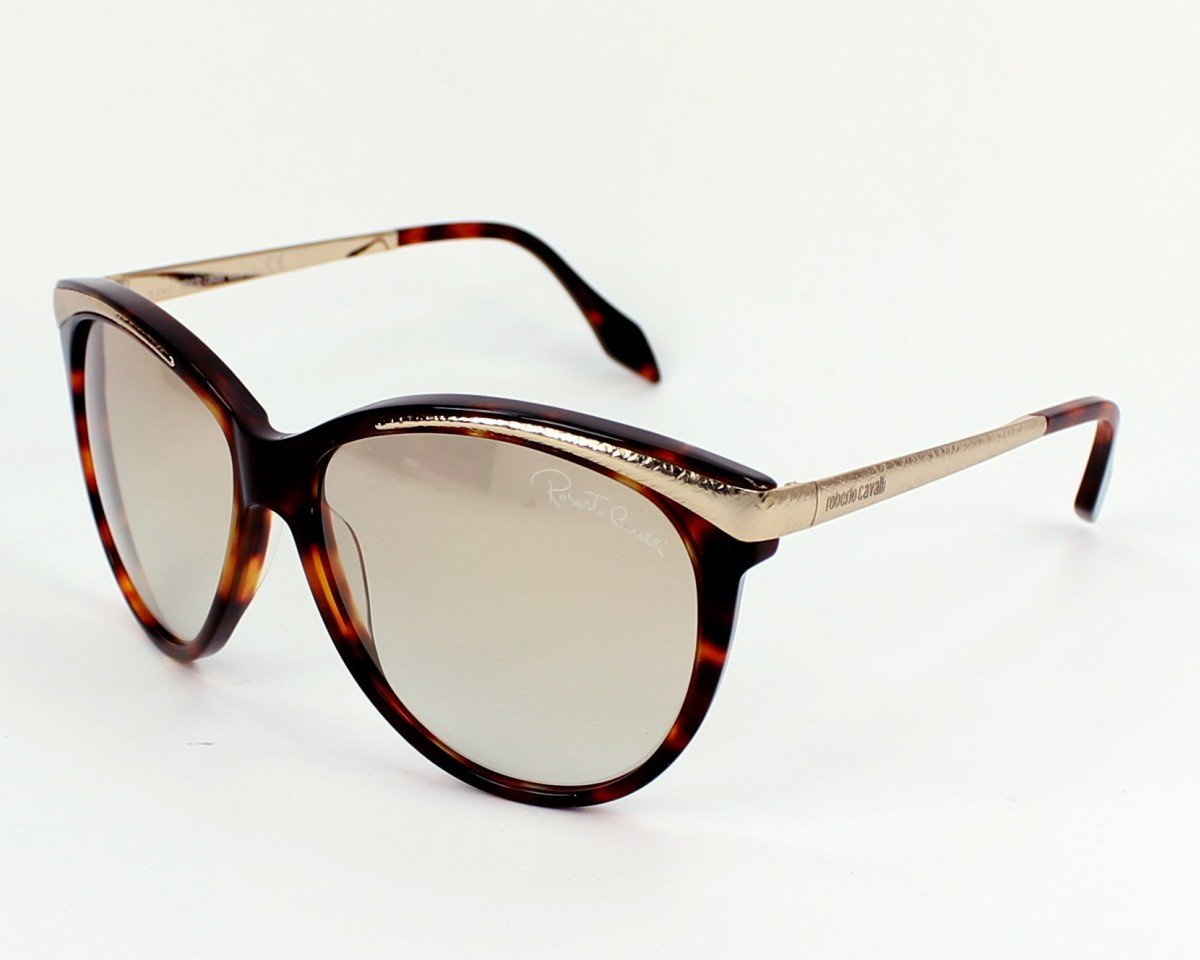 Roberto Cavalli Sunglasses Havana Gradient Dark Grey
