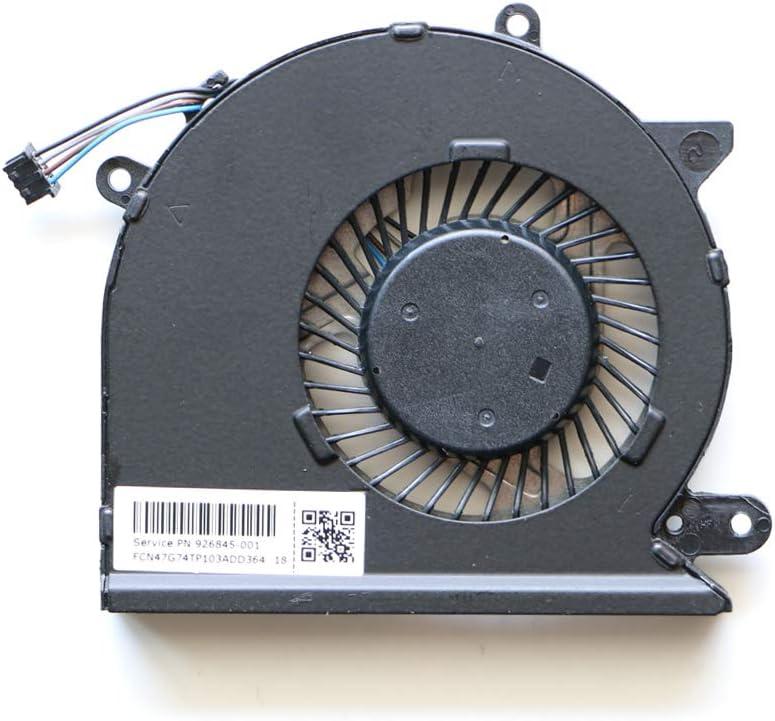 Laptop Replacement Cooler Fan for HP Pavilion 15-cd001ds 15-cd002ds 15-cd003ds 15-cd005la 15-cd006la 15-cd059sa 15-cd067ca 15-cd011nt CPU Cooling Fan