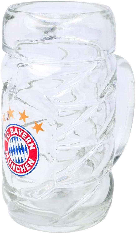 Jarra de cerveza de 0,5 L del FC Bayern Munich