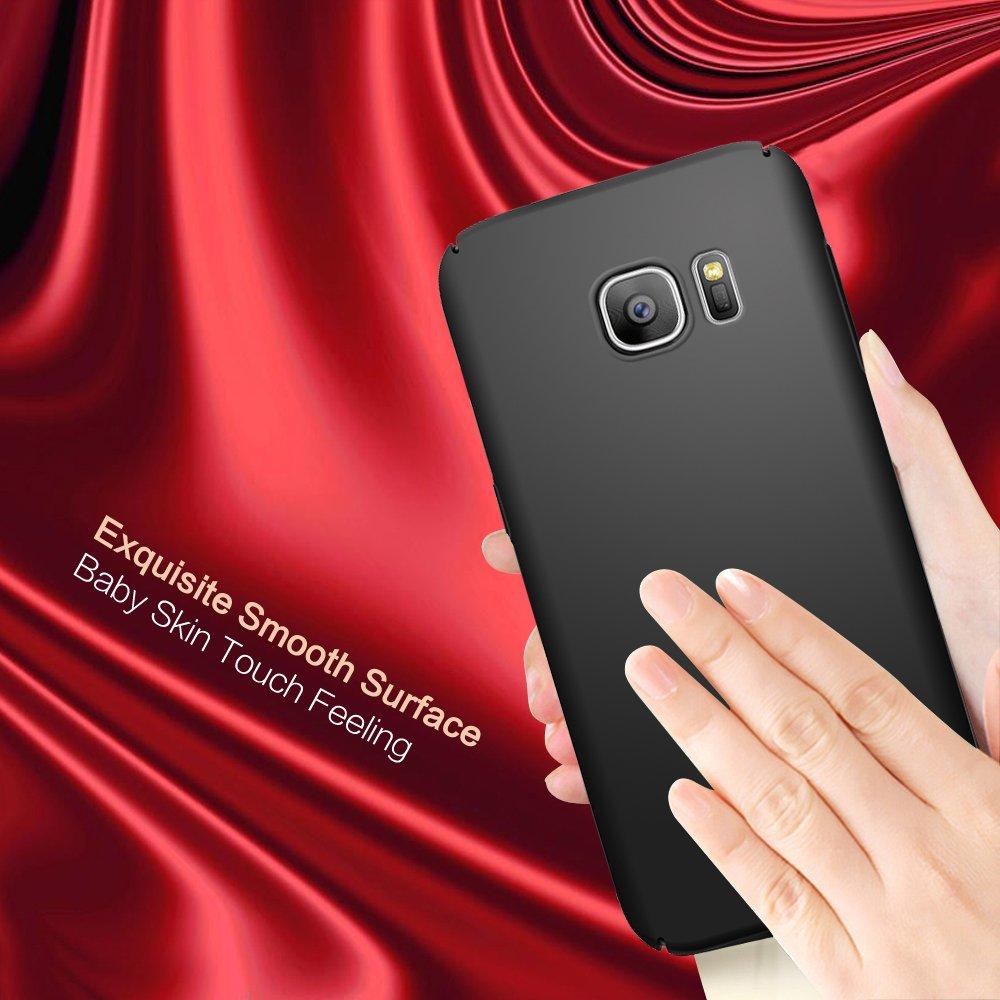 S7 Case Galaxy Turata Slim Fit Premium Baby Skin Ultra Thin Hard For Samsung Edge Black Electronics