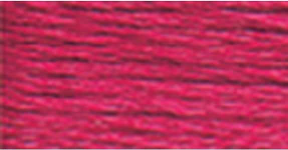 DMC 117 – 601 Seis Hilos de algodón Bordado Hilo Dental, Color ...