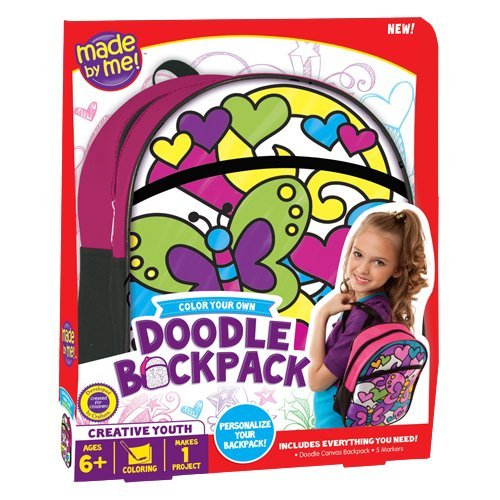 Made by Me Doodle Backpack by Made By Me