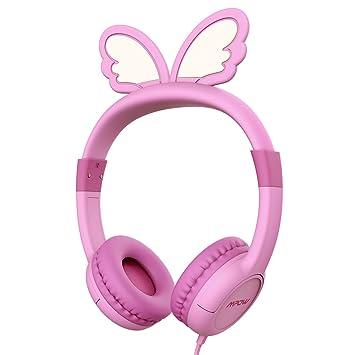 Auriculares Niños, Mpow Cascos Infantil Música para Niños con Volumen Limitado de 85dB, Materiales
