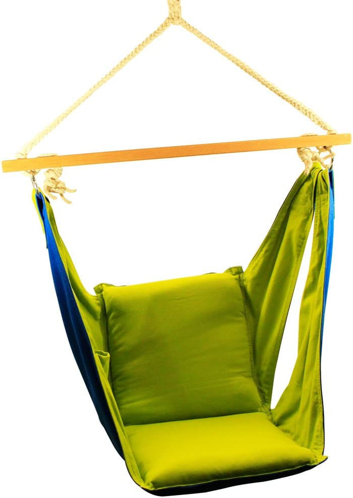 Amber Home Goods Kh 3 Ahg Happycamper Kids Butterfly Swing Pod Hanging Chair Nook Amazon Co Uk Garden Outdoors