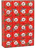 Happy Socks Advent Calendar Box Set - Set of 24 Patterned Crew Socks