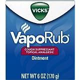 Vick's VapoRub Ointment, 6 oz (5 Pack)