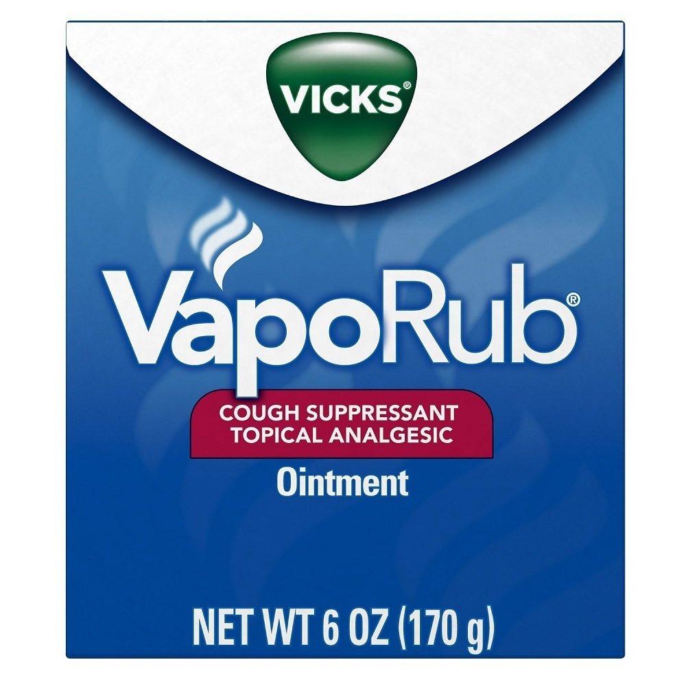 Vick's VapoRub Ointment, 6 oz (3 Pack) by Vicks