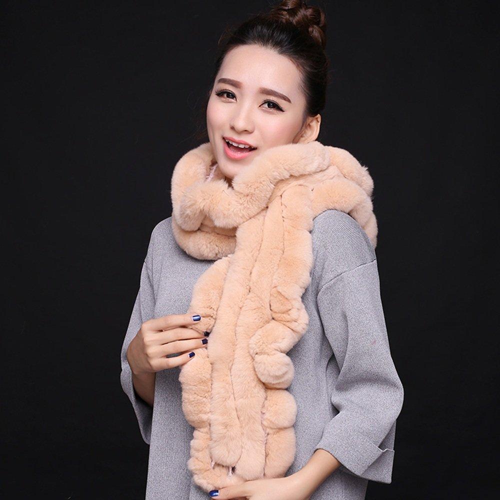 Bufanda HAIZHEN Elegante de moda invierno engrosamiento cálidos calentadores de cuello para estudiantes y mujeres en 9 colores Suave y cálido (Color : Light khaki)
