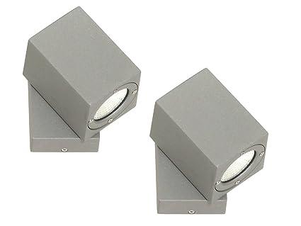 De Extérieure Aluminium 2 W Applique À Lot Murale En 3 Led KT1clFJ3u