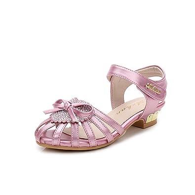 b359e712e8b91 Amazon.com | Always Pretty Round Toe Girls Heels Toddler Girl ...