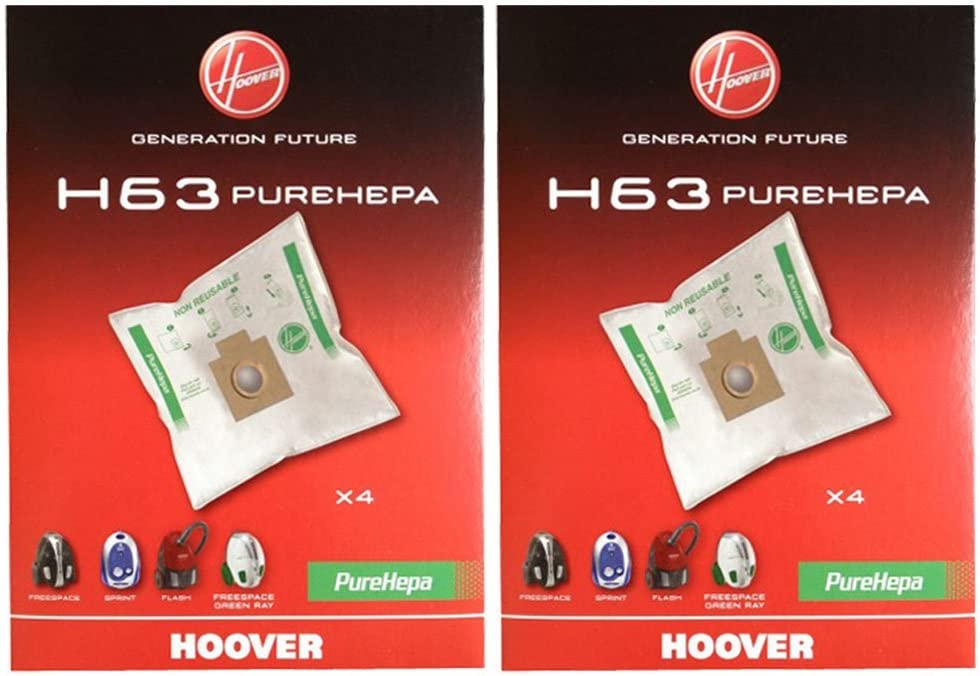 v/éritable Hoover H63/ PureHepa Freespace Aspirateur SACS Lot