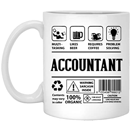 Amazon Accountant Coffee Mug