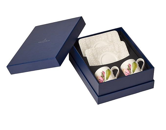 Villeroy & Boch 10-4380-8541 Set Moka de 8 Piezas, Porcelana ...