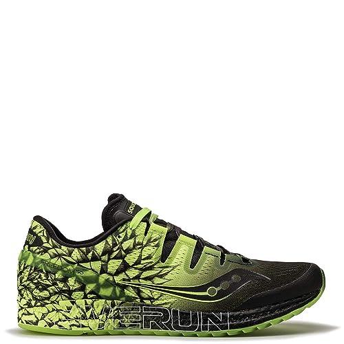 Saucony Freedom ISO Zapatillas para Correr Hombre Verde: Amazon.es: Zapatos y complementos