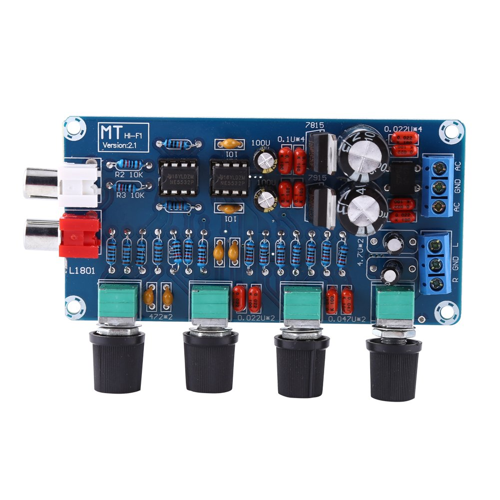 Amplifier Boardhifi Op Amp Ne5532 Preamplifier Volume Hi Fi Tone Control Assembled Board Hilitand