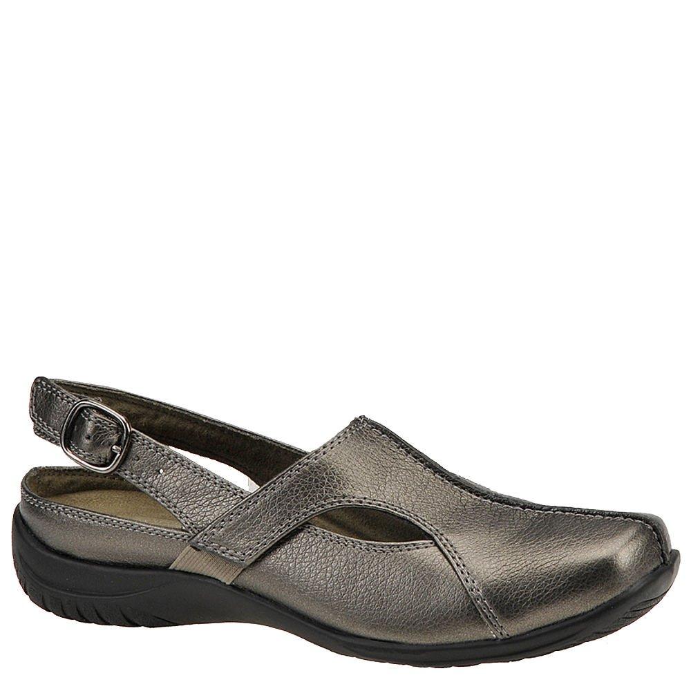 Easy Street Women's Sportster Slingback Slip-On Shoes, Pewter, 8.5 Ww/2E