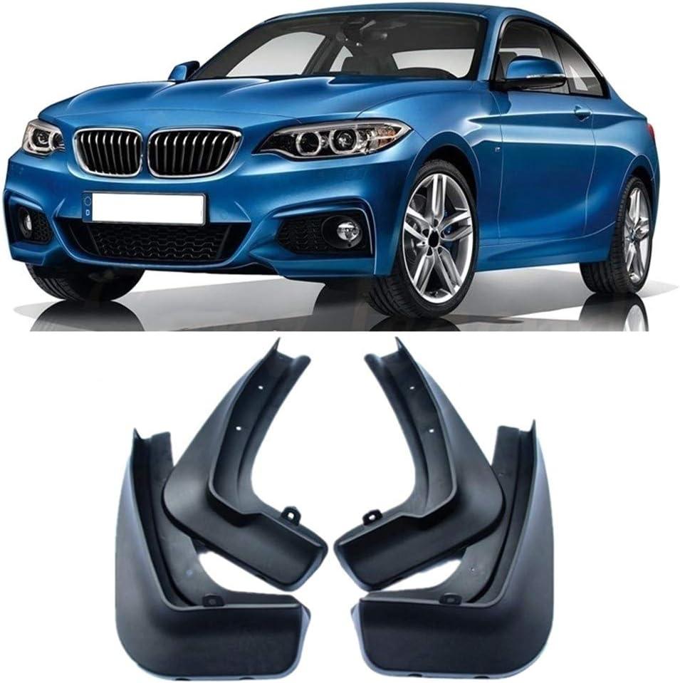 Set Schmutzf/änger for BMW 2 Serie F45 F46 Gran Aktive Tourer 2014 2015 2016 2017 Radabdeckungen Splash Kotfl/ügel Fender Mudflap XIANGSHAN 4pcs