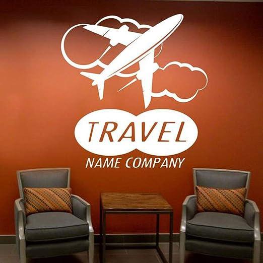 jiuyaomai Nombre de Viaje Personalizado Compañía Etiqueta de la ...