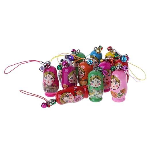 guangtian 1 Paquete Cute Russian Nesting Dolls matrioska ...