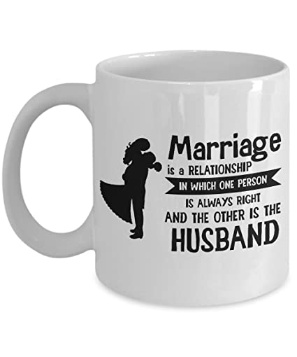 Amazon com: Marriage is a Relationship in Which One Person