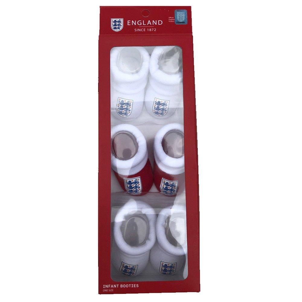 Official England B/éb/é Chaussette 0 /à 24 mois Multicolore blanc//rouge 0-6 mois gar/çon