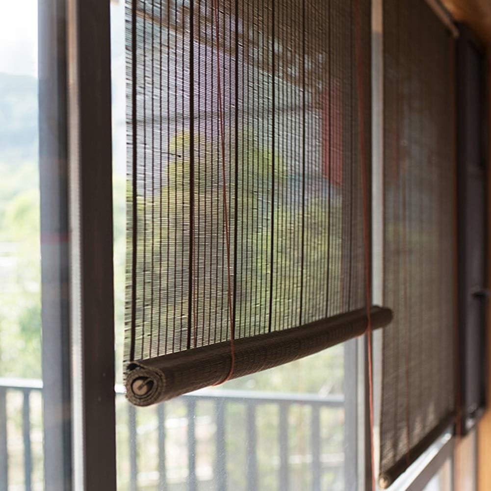 Persiana de bambú Persianas Enrollables Exteriores Pantalla De ...