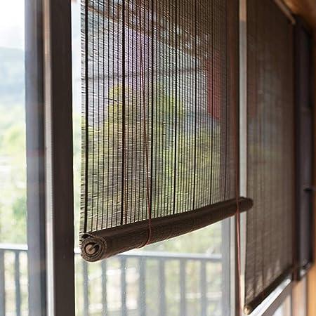 Persiana de bambú Persianas Enrollables Exteriores Pantalla De Privacidad para Terraza De Patio Al Aire Libre Porche Pérgola Gazebo Balcón Patio Trasero, 85cm / 105cm / 125cm / 145cm De Ancho: Amazon.es: Hogar