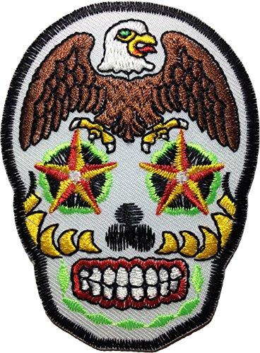 eagle-sugar-skull-heavy-metal-logo-jacket-vest-shirt-hat-blanket-backpack-t-shirt-patches-embroidere