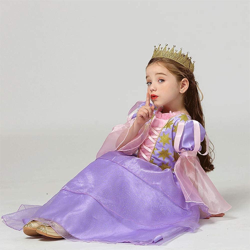Disfraz de la Princesa Rapunzel Deluxe para niña Sofia Carnaval ...