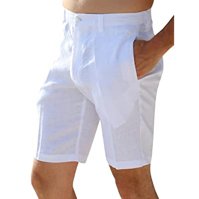 WSPLYSPJY Mens Shorts Casual Classic Fit Elastic Waist Pockets Drawstring Summer Beach Shorts 6 XL