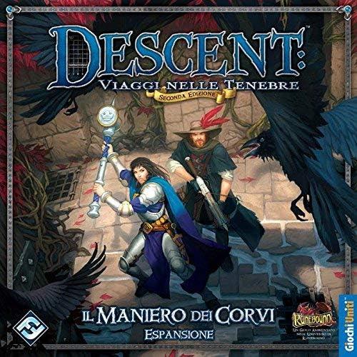 Giochi Uniti Juegos EE.UU. - El Pazo de los Ravens, de expansión para Descent: No Name: Amazon.es: Juguetes y juegos