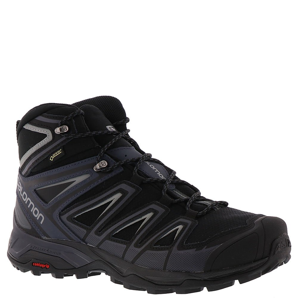 los angeles 5a832 5e25c Salomon Men's X Ultra 3 Mid GTX Waterproof Hiking Boots, Black/India  Ink/Monument, 11D (Medium)