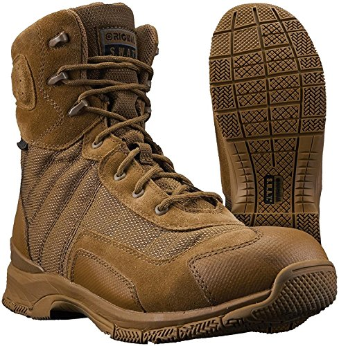 Original S.W.A.T. Men's H.A.W.K. 9 inch Waterproof En Military and Tactical Boot, Coyote, 5.5 D US ()