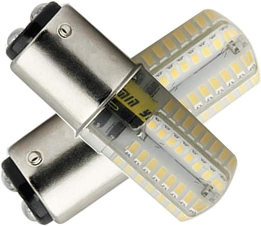 Ymm Bombilla LED B15D 4W LED Blanco Cálida 3000K Non-Dimmable ...