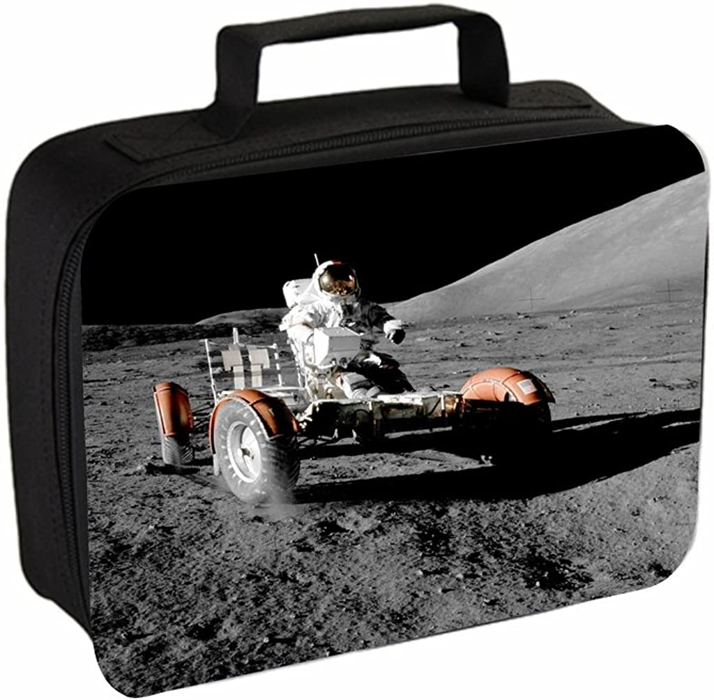 Astronaut In Moon Vehicle Jacks Outlet TM School Backpack and Insulated Lunch Bag Set Pencil Case