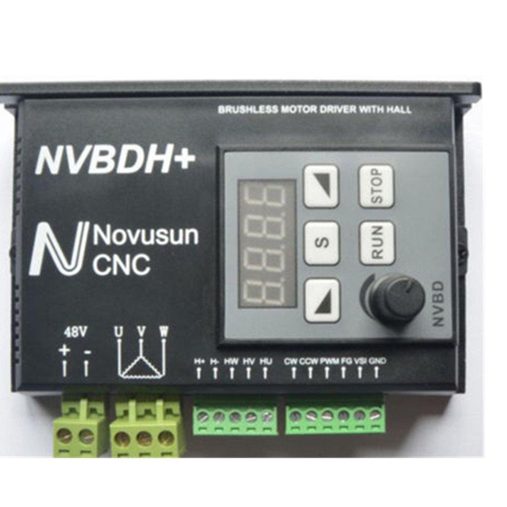 CNC Brushless DC Motor Driver Set Brushless Spindle Motor NVBDH