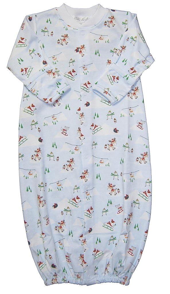 最新の激安 Kissy Kissy baby-boys baby-boys Fun Infant Snow Convertibleガウン Much Fun Print Convertibleガウン Small ブルー B01LQT3PEQ, ムギグン:8ec0cfaa --- arianechie.dominiotemporario.com