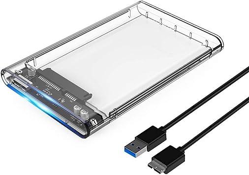 ORICO Caja de Disco Duro USB 3.0 con UASP para HDD/SSD ...