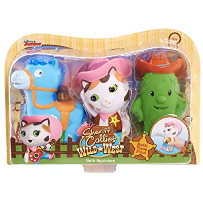 Disney Sheriff Callie Bath Squirters 3-pack : Baby