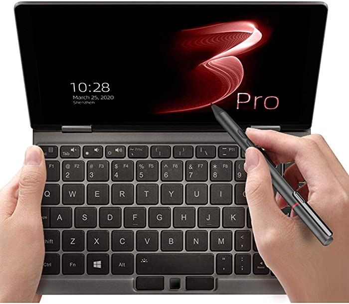 """One Netbook One Mix 3 PRO Platinum Edition Yoga CPU Intel 10th I7-10510Y 8.4"""" Mini Pocket Laptop Ultrabook UMPC Win 10 Home,2560X1600 Touch Screen Tablet PC 16GB RAM/512GB PCIE SSD Storage"""